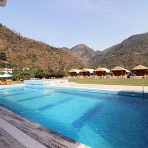 resorts in dehradun with swimming pool