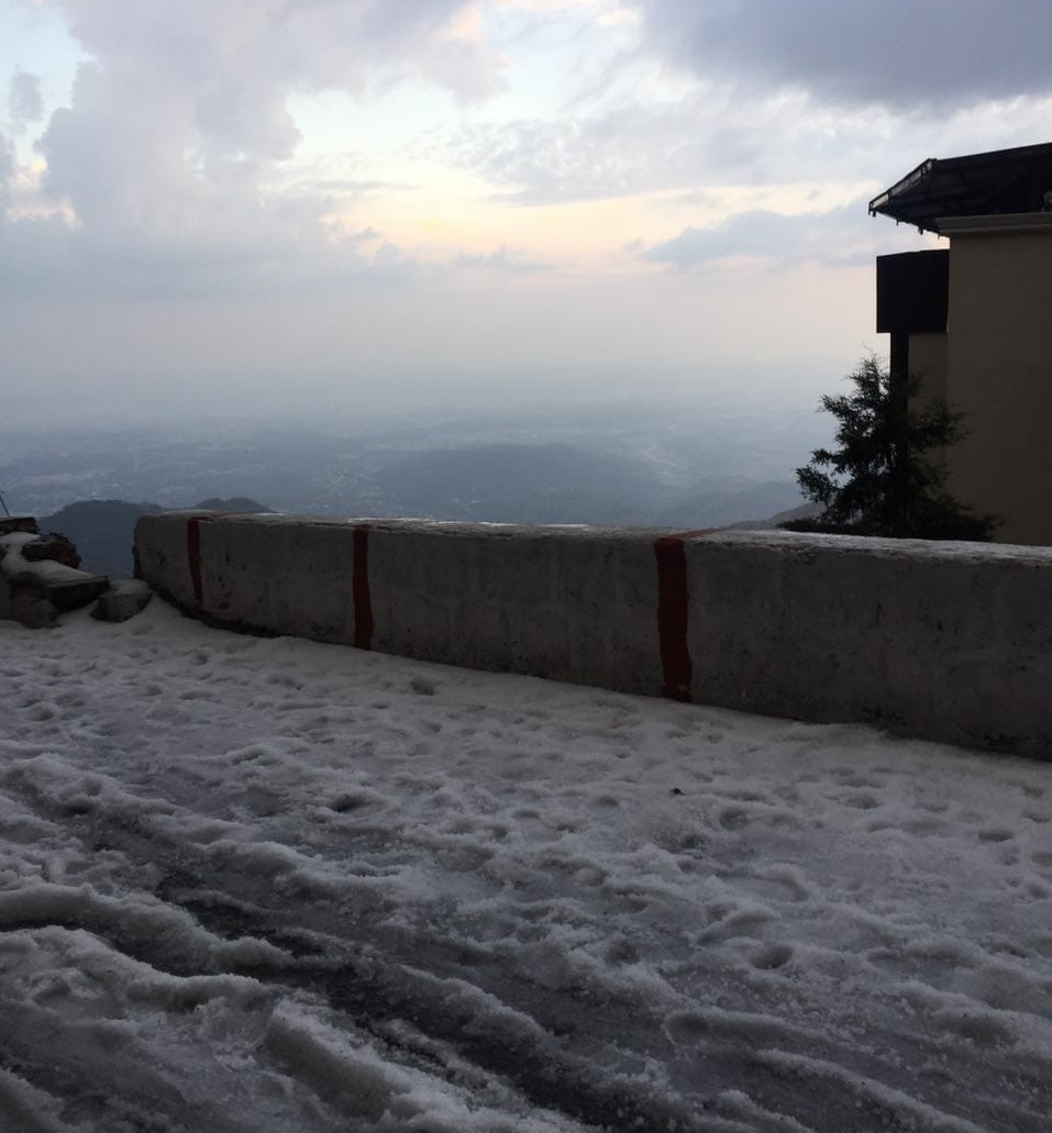 Snowfall In Mussoorie